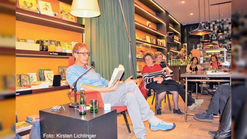 Lesung Tom Diesbrock in der Buchhandlung Gessler